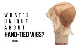 Why are Jon Renau 100% hand tied wigs so unique?