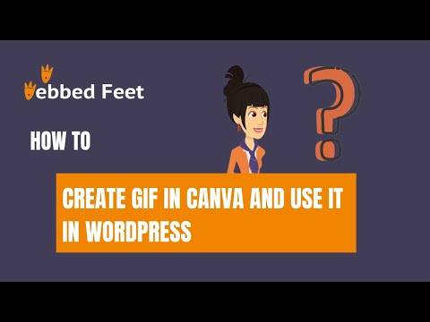 How to Create GIF in Canva and Use it in WordPress