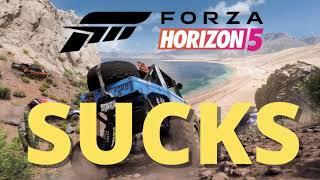 FORZA HORIZON 5 SUCKS - LOOKS AWFUL - TRASH - DO NOT BUY - REVIEW