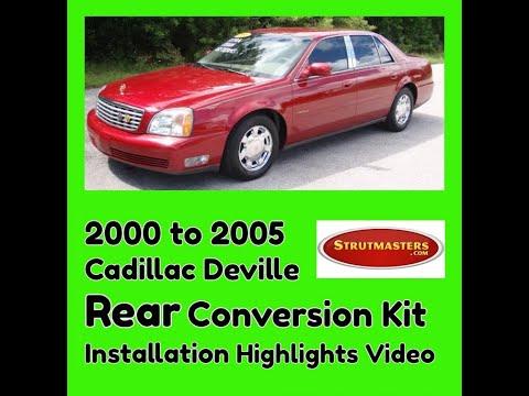 2000-2005 Cadillac Deville Rear Electronic/Air Suspension Conversion Installation