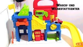 Fisher-Price Little People Wheelies Wasch- und Werkstattcenter | Mattel