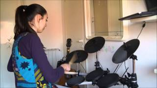 ARCH ENEMY  'The Day You Died MEGI DRUM COVER