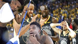 MY WHOLE 20'S!!! WARRIORS vs ROCKETS GAME 2 NBA PLAYOFFS HIGHLIGHTS