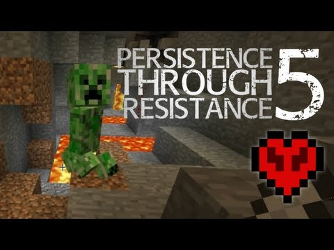 Minecraft: Persistence Through Resistance EP05 - PVP Ideas