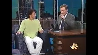 Шоу Конана О ' Брайена: Джеки Чан показывает трюк (1999)   перевод