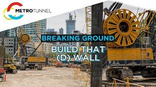 D Wall construction at Domain