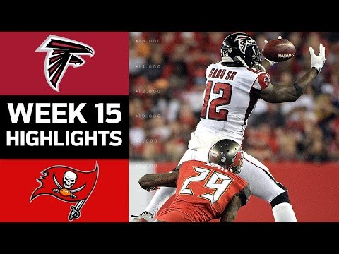 Falcons vs. Buccaneers | NFL Week 15 Game Highlights