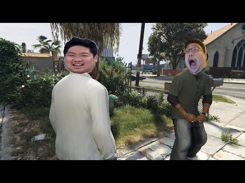 GTA5 國動 & 統神 Lamar roasts Franklin