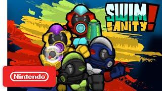 Nintendo Swimsanity! - Launch Trailer  anuncio