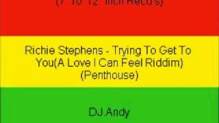 Richie Stephens - Trying To Get To You(A Love I Can Feel Rid