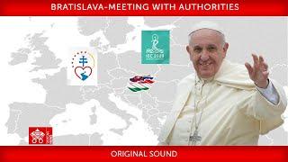13 September 2021, Bratislava, Meeting with Authorities, Pope Francis (27:13)