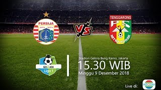 Live Streaming Indosiar Liga 1 2018, Persija Vs Mitra Kukar, Minggu Pukul 15.30 WIB