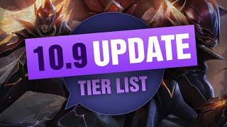 UPDATED Mobalytics Patch 10.9 Low Elo Tier List New OP Champions and Q&A - League of Legends