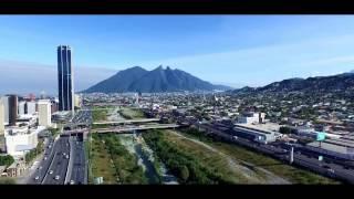 Monterrey Drone View