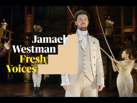 Hamilton lead actor Jamael Westman on making change: 'There's a lot of power in being young'