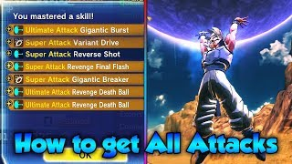 How to UNLOCK all DLC 7 SKILLS for CAC! - Dragon Ball Xenoverse 2