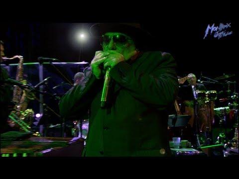 With Van Morrison - Montreux Jazz Festival