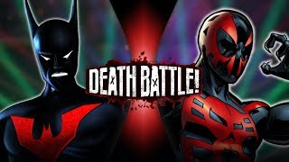 Batman Beyond VS Spider Man 2099 (DC VS Marvel) | DEATH BATTLE!