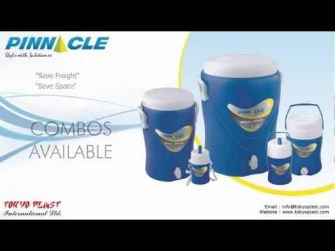Video Insulated Cooler Jug, Beverage Cooler, 5 gallon Cooler