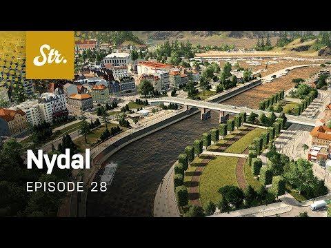 Urban Ferries — Cities Skylines: Nydal — EP 28