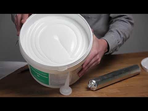 Однокомпонентный акрилатный герметик Tenaplasts youtube