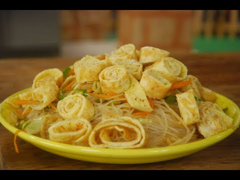 Glass Noodles and Egg Stir Fry | Cooksmart | Sanjeev Kapoor Khazana
