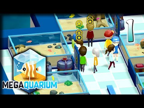 Feedin' the Fishes! – Megaquarium Gameplay – Let's Play Part 1