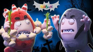 Oddbods Full Episode Compilation   Halloween Roller Coaster Ride   The Oddbods Show