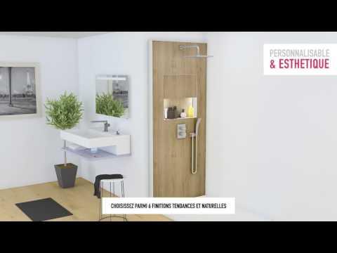 Ecrin : la solution douche personnalisable