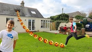 YOU WON'T BELIEVE THIS FOOTBALL CHALLENGE