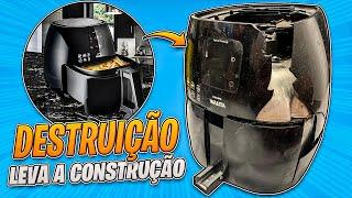 A DESTRUIÇÃO LEVA A CONSTRUÇÃO: AIRFRYER WALITA
