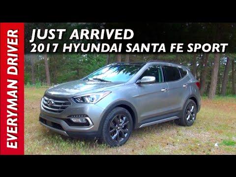 Just Arrived: 2017 Hyundai Santa Fe Sport on Everyman Driver