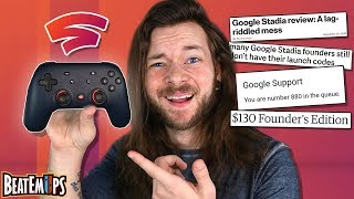 Google Stadia is a Mismanaged Train Wreck.