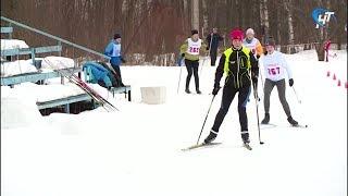 Несмотря на погодные условия, участники спартакиады профсоюзов встали на лыжи