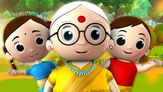 Nani Nani Suno Kahani Hindi Rhymes - 3D Animated Nursery
