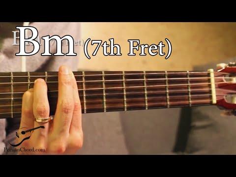Bm Chord on Guitar (7th Fret)