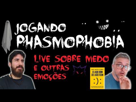 AS EMOÇÕES DE PHASMOPHOBIA: JOGANDO COM O PSIQUIATRA DANIEL BARROS [+13]