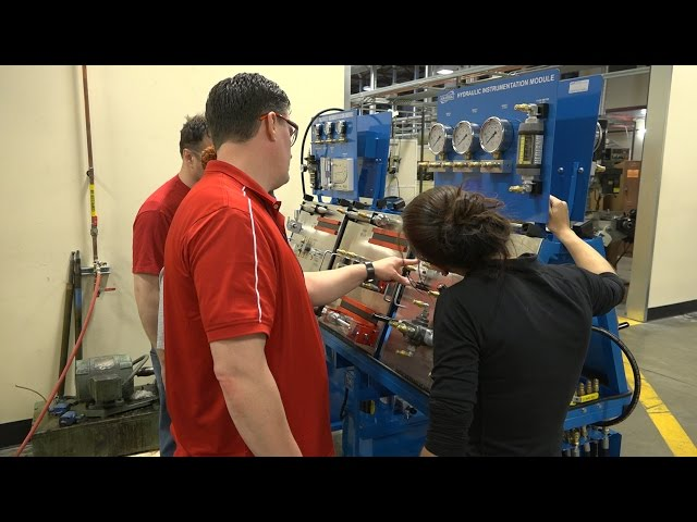EvCC's Mechatronics Program at AMTEC
