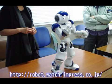 Nao The Robot Thespian Performs <em>Star Wars</em>: I Give It Five Stars