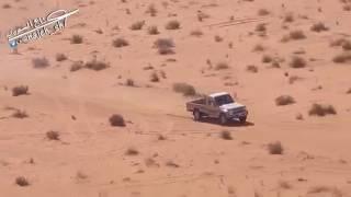 شاهد مطاردة الجيش لتهريبة مخدرات بالصحراء 2017