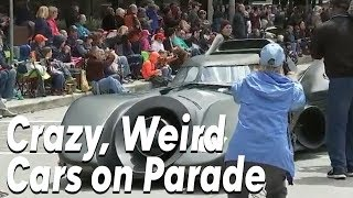 CRAZY CARS at Houston Art Car Parade 2018 [FULL]