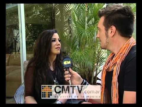 Lena video Entrevista 2012 - Premios Billboard  2012