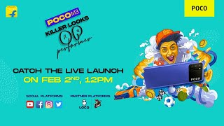 POCO M3 launch livestream | Killer Looks OP Performer