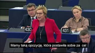 """""""The best of PIS"""" z debaty w Parlamencie Europejskim o praworządności w Polsce"""