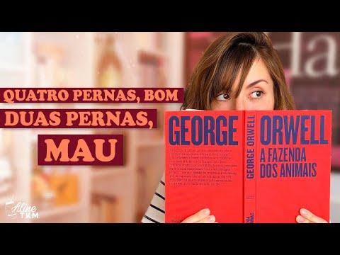 A FAZENDA DOS ANIMAIS: Nova edição e resgate das ideias de George Orwell | Livro Lab por Aline TKM