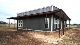Barndo 195 Build Update - Texas Barndominiums Episode 64