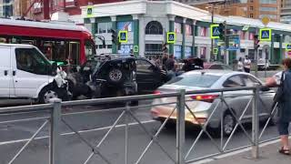 ДТП на пересечении пр. Просвещения и ул. Руднева