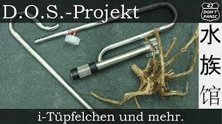 i-Tüpfelchen und mehr. (Aquasabi Skimmer Stainless Steel Set) | D.O.S.-Projekt