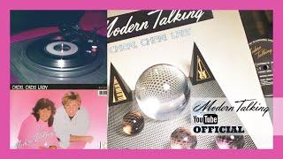 "Modern Talking - Original Vinyl Release 45 rpm ""Cheri Cheri Lady Instrumental"""