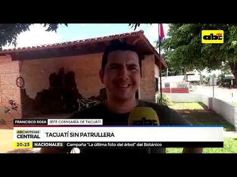 Tacuatí sin patrullera